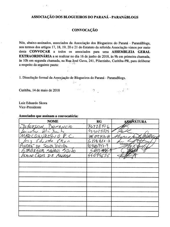 Convocatoria paranablogs